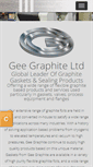 Mobile Preview of geegraphite.co.uk